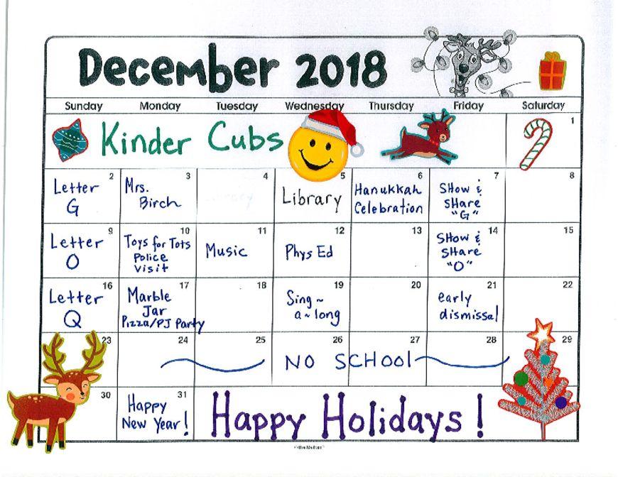 thumbnail of KinderCubs – Dec